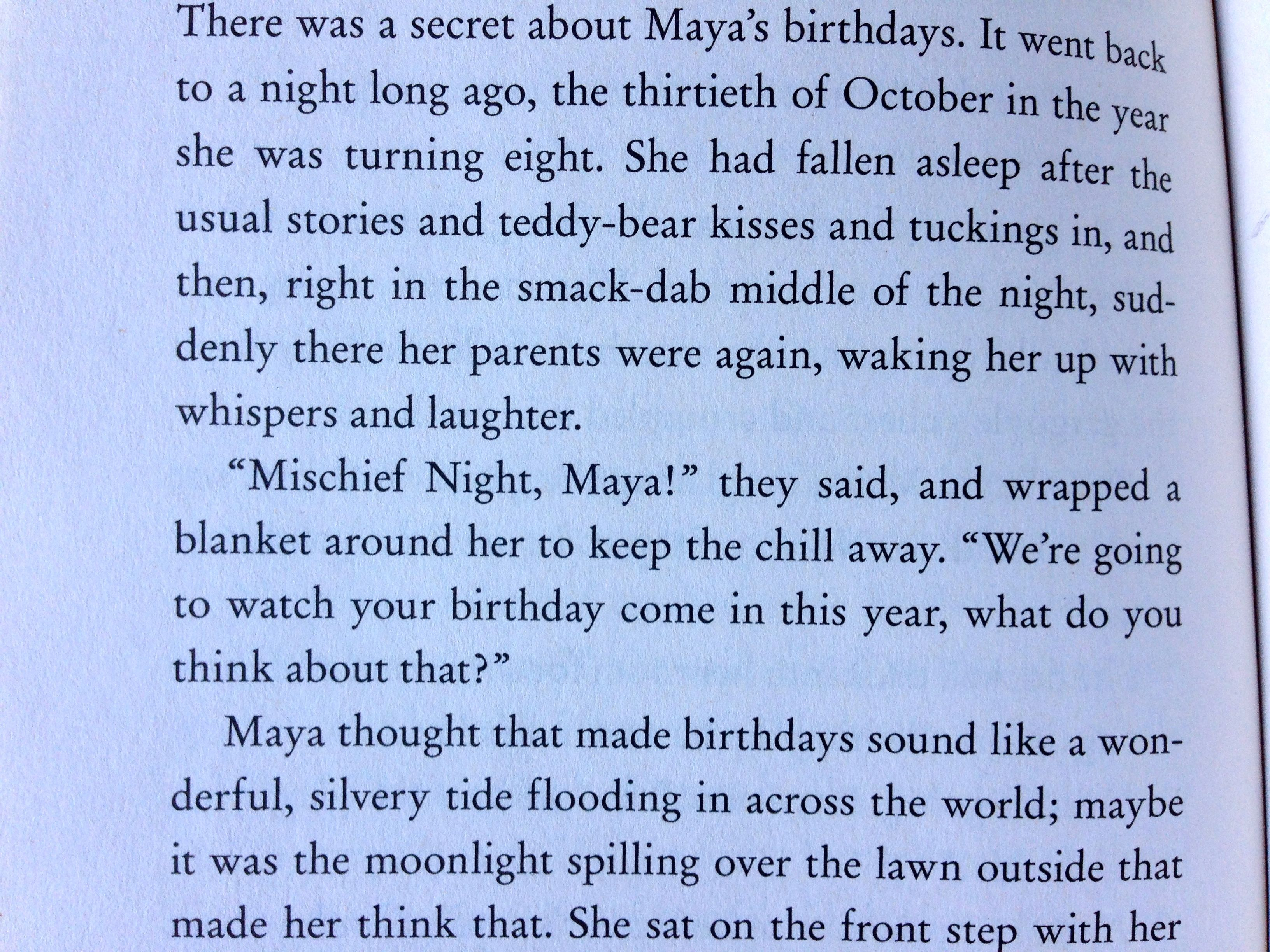 Happy Birthday, Dear Maya! (Or, What Halloween Means to Me) | Anne ...